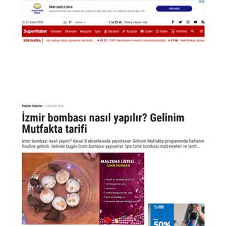 İzmir bombası nasıl yapılır- - İzmir bombası tarifi - İşte gelinim mutfakta bugünkü tatlının malzemeleri