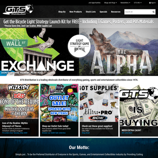 Home Page - GTS Distribution - Corporate