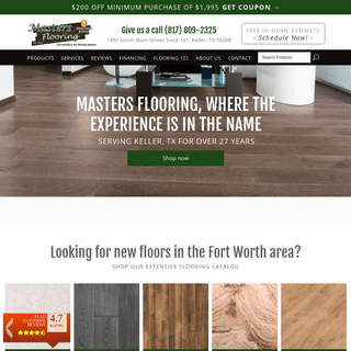 Flooring in Fort Worth TX from Masters Flooring
