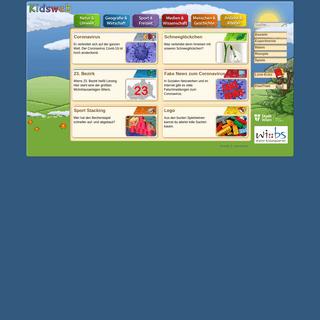 Kidsweb - Eine Seite für Kinder
