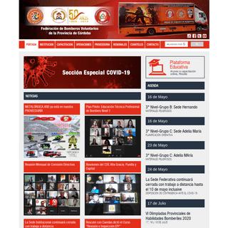 A complete backup of bomberoscordoba.org.ar