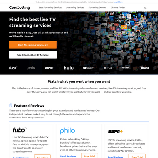 Cordcutting.com - Cord Cutting Guides, News, and Reviews