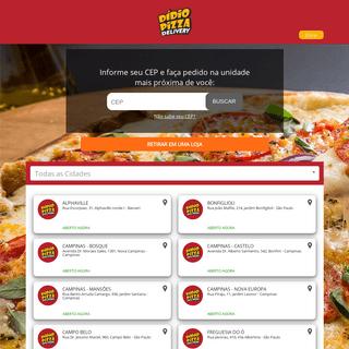 Dídio Pizza - Faça seu pedido online