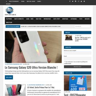 Planet Sans fil, le site des technologies sans fil. -