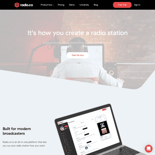 Radio.co - Create Your Own Internet Radio Station