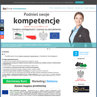 Certyfikowane kursy online i stacjonarne -Kar-Group
