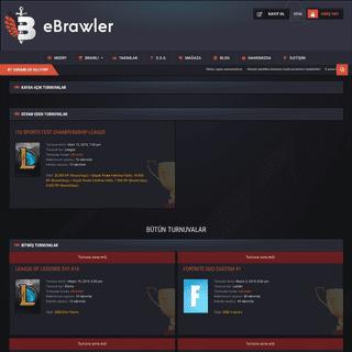 eBrawler - Rekabetçi eSpor Platformu