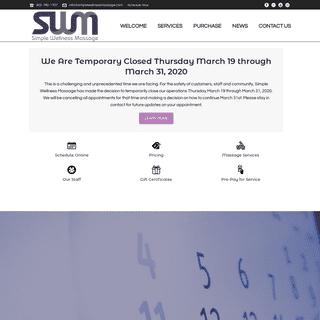 Simple Wellness Massage – Massage Therapy in Lincoln Nebraska