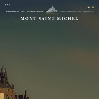 Le Mont Saint-Michel - Réservations, hébergement, séjours, visites, shopping