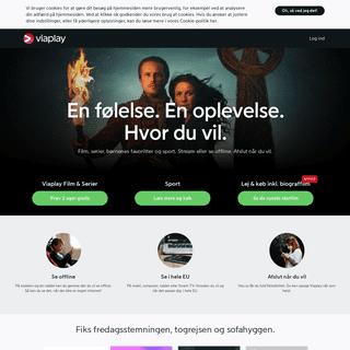 Se TV, Film og sport på nettet - Viaplay.dk