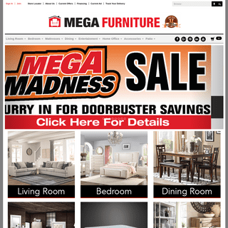 Furniture Stores - San Antonio, Austin TX - Mega Furniture