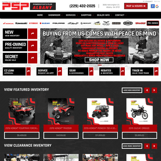 ArchiveBay.com - powersportsplus.com - Powersports Plus - Albany, Georgia - Quality New & Used Powersports Motorcycles, ATVs, UTVs, Parts, Financing and Accessories