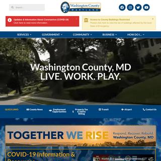Welcome to Washington County - Washington County