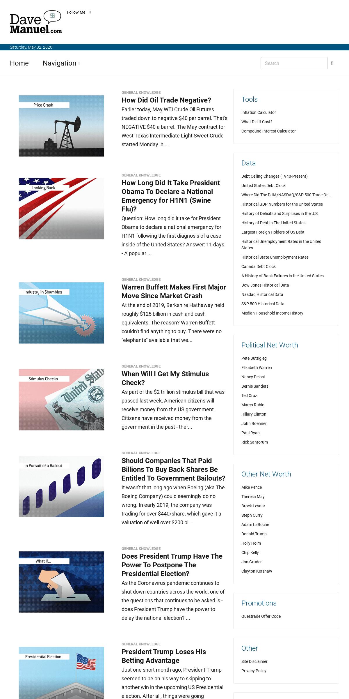 ArchiveBay.com - davemanuel.com - Dave Manuel - Economy, Stock Market and Real Estate News