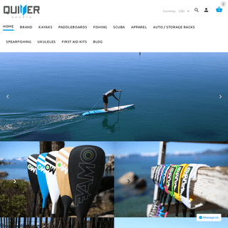 Quiver Sports- Paddleboards, Kayaks, Scuba Diving, & Spearfishing Gear – QuiverSports.com