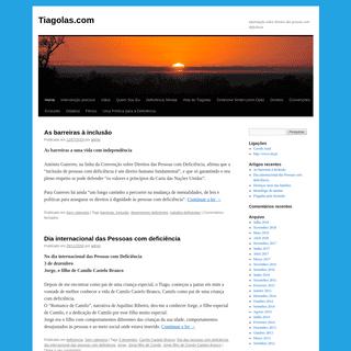 Tiagolas.com - informação sobre direitos das pessoas com deficência