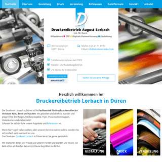 Druckerei Lorbach in Düren – Drucksachen aller Art