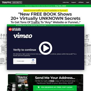 Traffic Secrets - Get Your Free Copy!