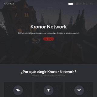 Kronor Network - Bienvenido