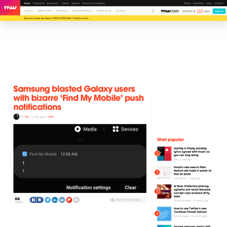 ArchiveBay.com - thenextweb.com/apps/2020/02/20/samsung-galaxy-find-my-mobile/ - Samsung blasted Galaxy users with bizarre 'Find My Mobile' notifications