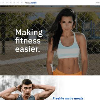 Australia's 1st Macro-Optimised Meals - Fitness Meals