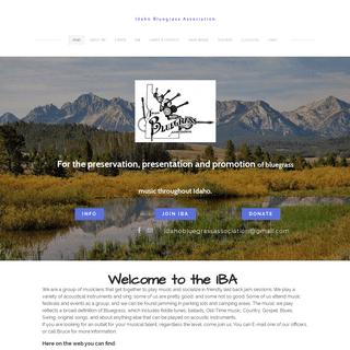 Idaho Bluegrass Association - Idaho Bluegrass association