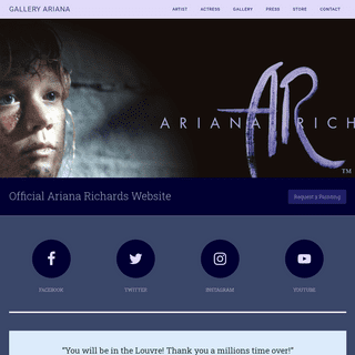 Gallery Ariana, Ariana Richards official Portrait Artist website. Jurassic Park — Official Ariana Richards Website