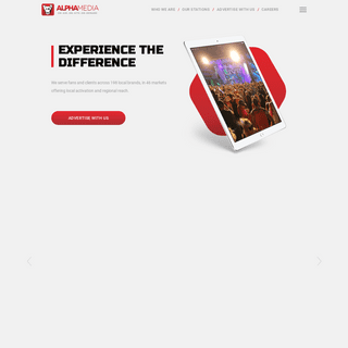 Homepage - Alpha Media