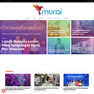 Murai MY - Berita Hiburan Malaysia