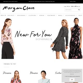 Womens Designer Clothing - Footwear - Accessories - Morgan Clare