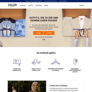 Persönliche online Stilberatung - Zalon by Zalando DE