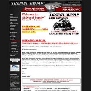 SSDiesel Supply -- GM 6.5 TD Specialists