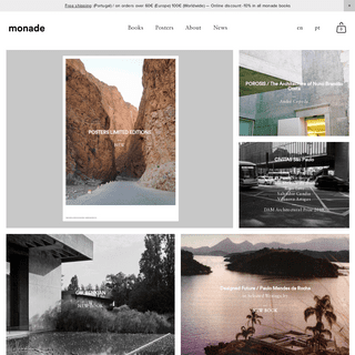 monade – books on architecture, photography, art and thought