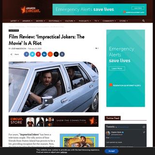 ArchiveBay.com - www.awardscircuit.com/film-review-impractical-jokers-the-movie/ - Film Review- 'Impractical Jokers- The Movie' Is A Riot • AwardsCircuit - Entertainment, Predictions, Reviews