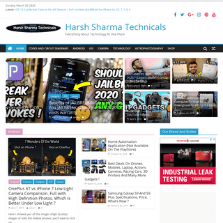 Harsh Sharma Technicals – Everything About Technology At One Place