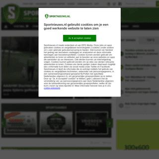 Sportnieuws.nl gebruikt cookies om je een goed werkende website te laten zien
