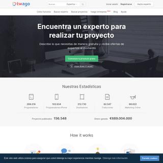 Mercado de Trabajo Freelance - twago