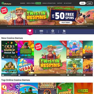 ArchiveBay.com - mfortune.co.uk - Online Casino Games - Mobile Casino & Online Slots UK - mFortune