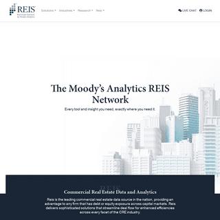 ArchiveBay.com - reis.com - Commercial Real Estate Data Services - Moody's Analytics Reis Network