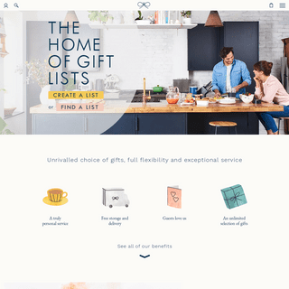 The Wedding Shop - The Ultimate Wedding Gift List Service