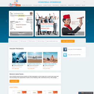 Jashan Tourism - Travel agency in Dubai for visa