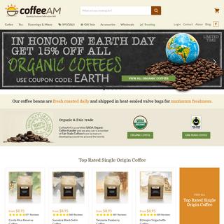 CoffeeAM - Gourmet Coffee & Tea - Roasted Fresh Daily Since 1993!