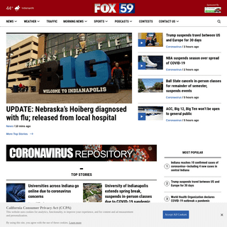 FOX59.com - Indianapolis News & Weather - WXIN