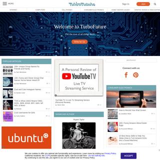 TurboFuture - Technology