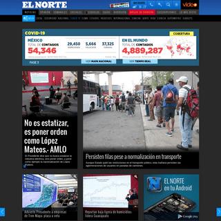 EL NORTE - Portada