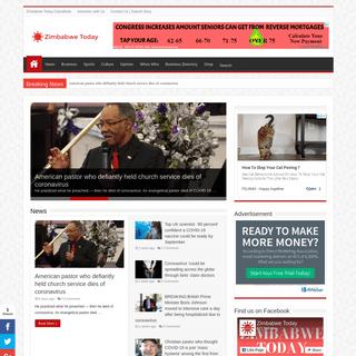 Zimbabwe-Today.com - Online Portal That Showcase All Zimbabwe News