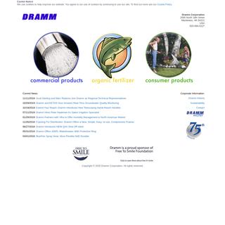 Dramm Corporation, 920.684.0227, 2000 North 18th Street, Manitowoc, WI 54221, USA