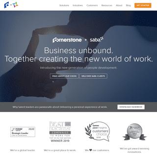 Talent Management Software Solutions - Saba Software