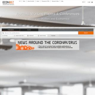 EconBiz - Find Economic Literature