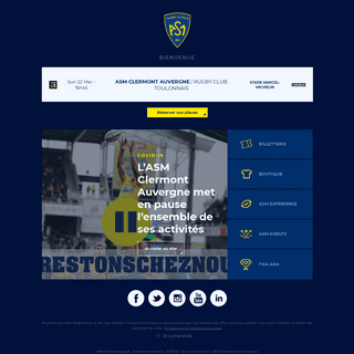 ASM Clermont Auvergne Rugby - Site officiel
